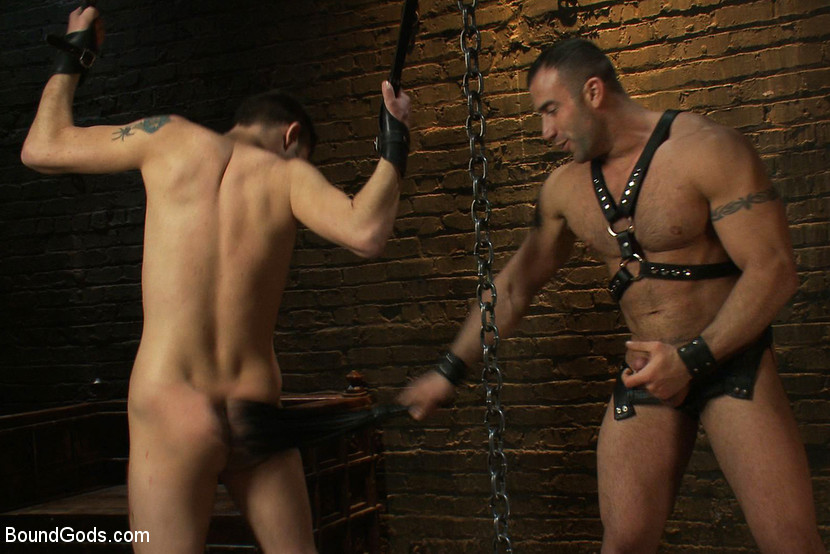 from Leonel leather bondage gay boys